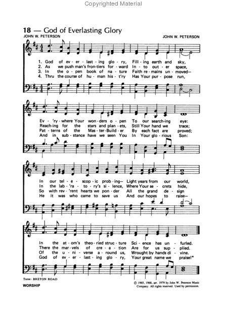 In The Image Of God Lyrics John W Peterson