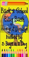 Back 2 School Blog Bash