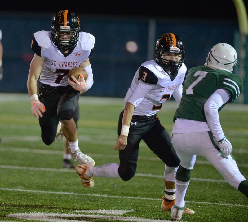 St. Charles East upends New Trier
