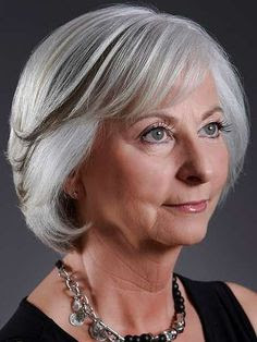 finding hair styes and cuts for older women with thinning hair | Chic Over 60 Hair Styles. This is nice. But, if the sixties are the new fifties, why are the hair styles soooo conservative? Just curious....
