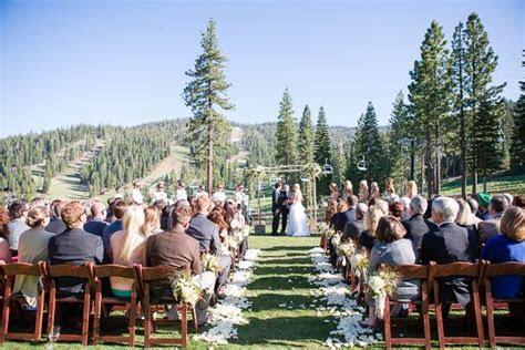 Ritz Carlton Lake Tahoe wedding ceremony   Lake Tahoe