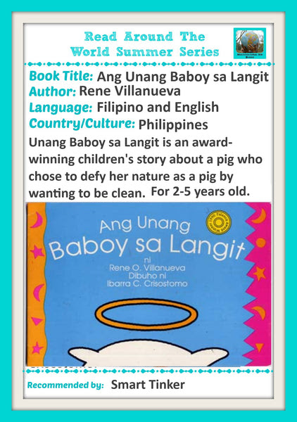Ang Unang baboy sa Langit Book Recommendation for Read Around the Worl – SMART TINKER