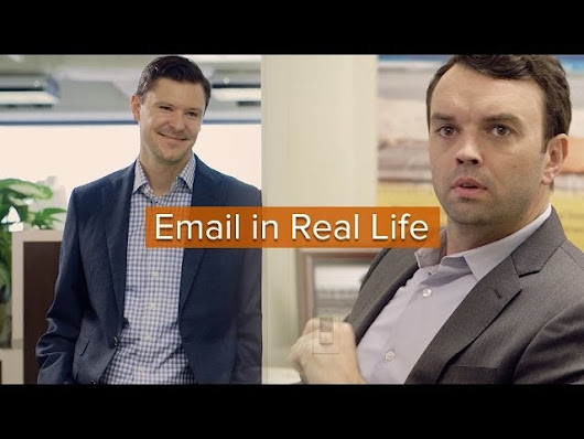 Watch How Absurd Email Would Seem in Real Life