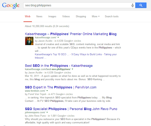 How to Really Rank in Google SERPs - Kaiserthesage