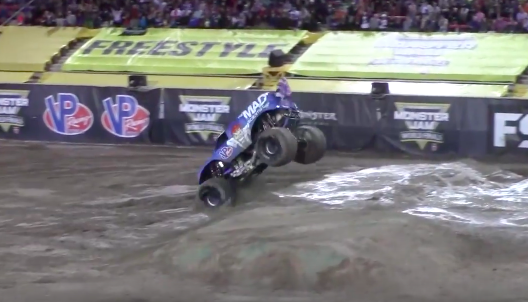 Watch the First-Ever Monster Truck Front Flip