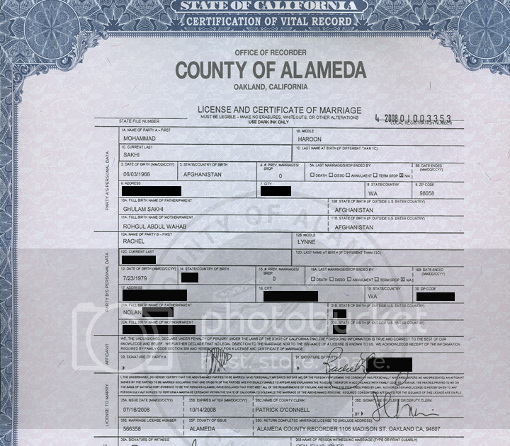 Neverland Brands: Marriage Certificate