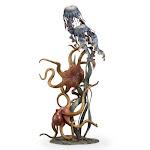 SPI 80325 Undersea Wonders Quartet Sculpture - Octopuses and Jellyfish