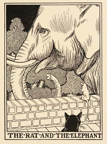 Mus et Elephantus