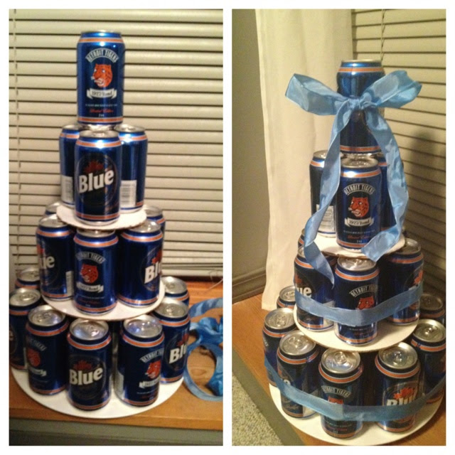 Beer cake for My boyfriends dad, fathers day
