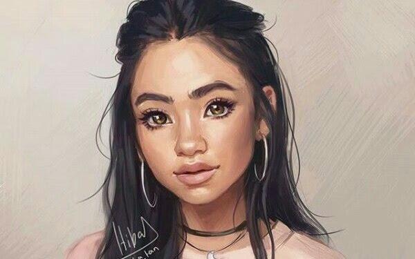 Beautiful Pretty Cute Girl Drawings
