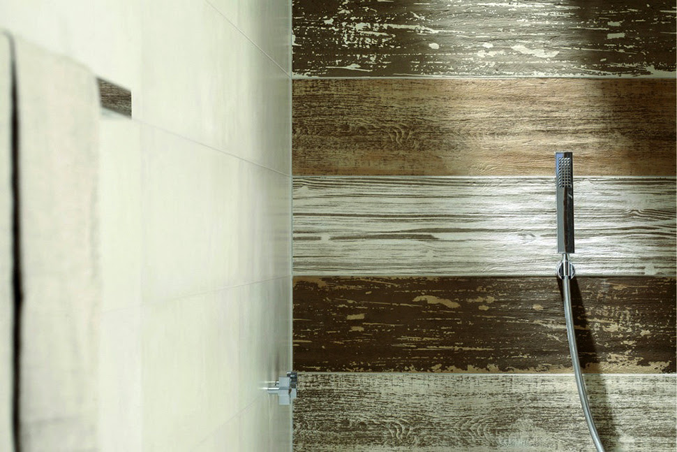 Ceramic Tile That Looks Like Weathered Wood by ABK