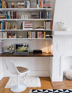 Built-in Shelving | Natural Building Blog