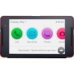 Consumer Cellular Postpaid Grandpad (32GB) - Black with Red Case, Adult Unisex