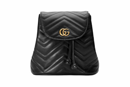 New Gucci GG Marmont Backpack - eXtravaganzi
