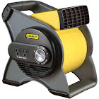 Lasko Stanley 655704 High Velocity Blower Fan, Gray/Yellow