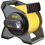 Lasko Stanley 655704 High Velocity Blower Fan, Gray/Yellow