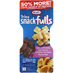 Snack Trios Convenience Meals Colby Jack Banana Chips 2.25oz (PACK OF 10)