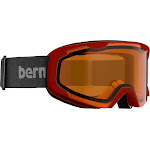Bern - Brewster x Black / Red Goggles, Orange Lenses
