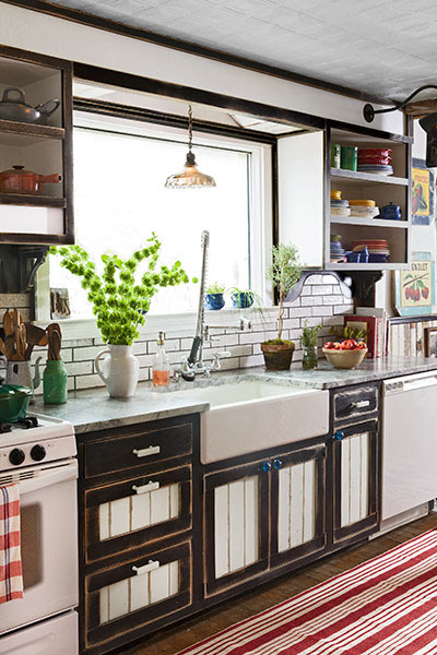 Memories and Salvage Character: After | Homespun Heirloom Kitchen | This Old House Mobile