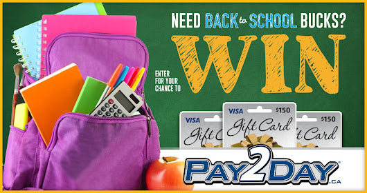 August Back To School Sweepstakes 2018