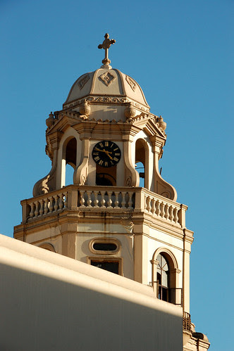 Bell tower of Quiapo church