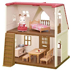 Red Roof Cozy Cottage Starter Home