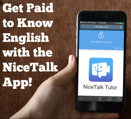 How to be a paid English tutor with the NiceTalk app | @gabeturner