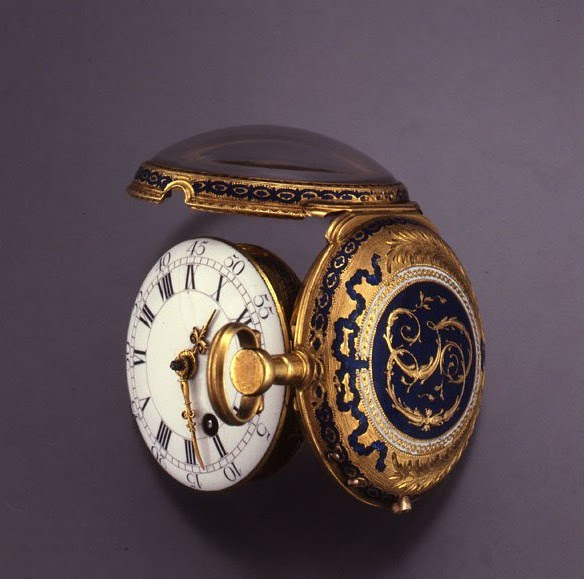 03 - ENAMELED POCKET WATCH, SIGNED GERVAIS ET SANDOZ. CIRCA 1780. MUSÉE INTERNATIONAL D'HORLOGERIE