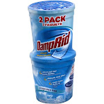DampRid Moisture Absorbers, Refillable, Fragrance Free - 2 pack, 10.5 oz absorbers