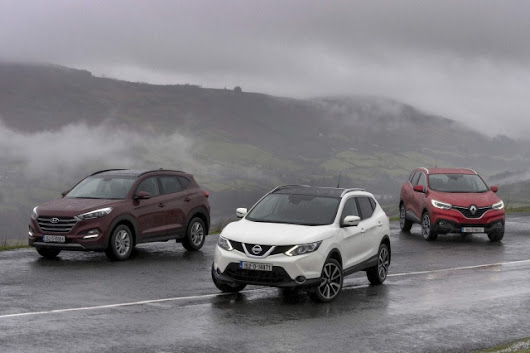 Hyundai Tucson vs. Nissan Qashqai vs. Renault Kadjar - a feature by CompleteCar.ie