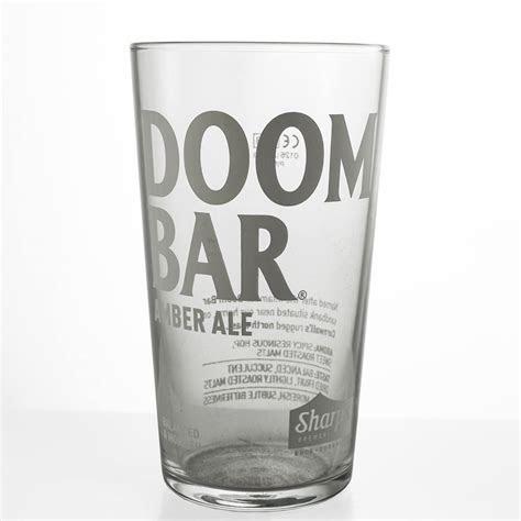 Personalised Doom Bar Amber Ale Pint Glass