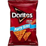 Doritos Nacho Cheese Flavored Tortilla Chips Party Size! (15 Ounce)
