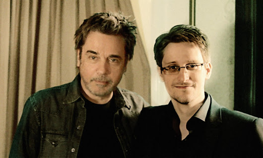 Jean-Michel Jarre and Edward Snowden collaborate on new song Exit – video