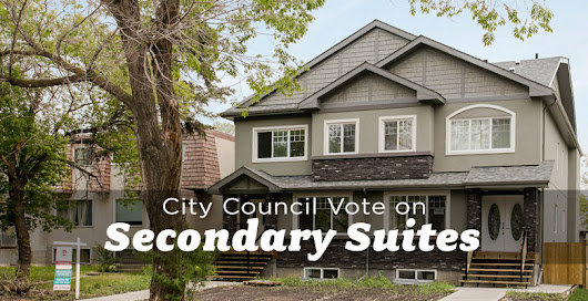 City Council to Vote on Secondary Suite Bylaws August 20 - The Edmonton Real Estate Blog