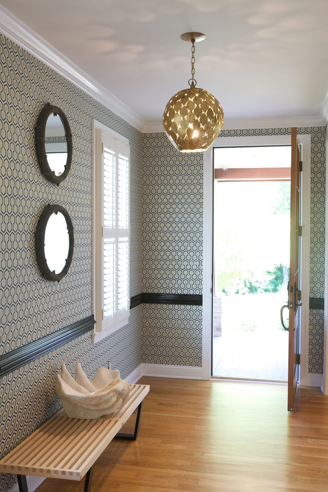 Marvelous arteriors lighting in Bathroom Transitional with ...