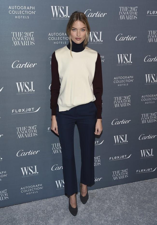premios wsj magazine innovator awards celebrities alfombra roja Martha Hunt