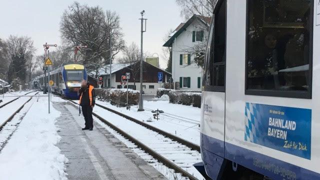 Κυκλοφορία τρένων της Deutsche Bahn