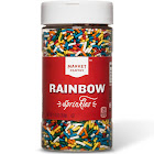 Market Pantry Rainbow Sprinkles - 9.3 oz bottle