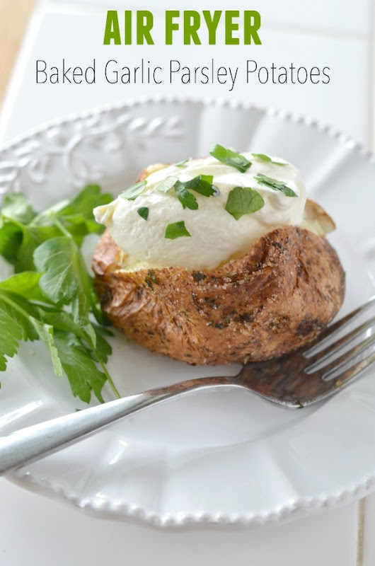 Air Fryer Baked Potato - Courtney's Sweets