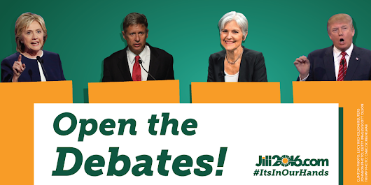 Open the Debates!