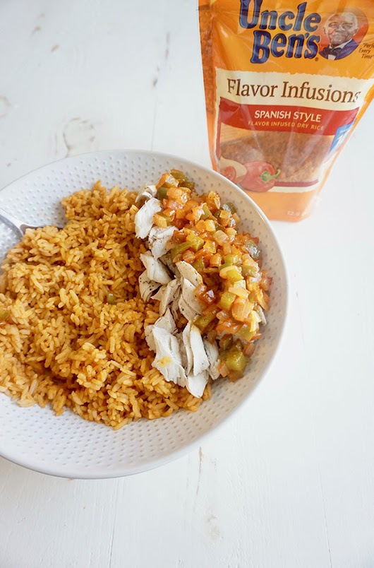 Quick Spanish Style Chicken and Rice