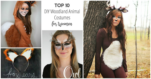 Top 10 DIY Woodland Animal Costumes for Women