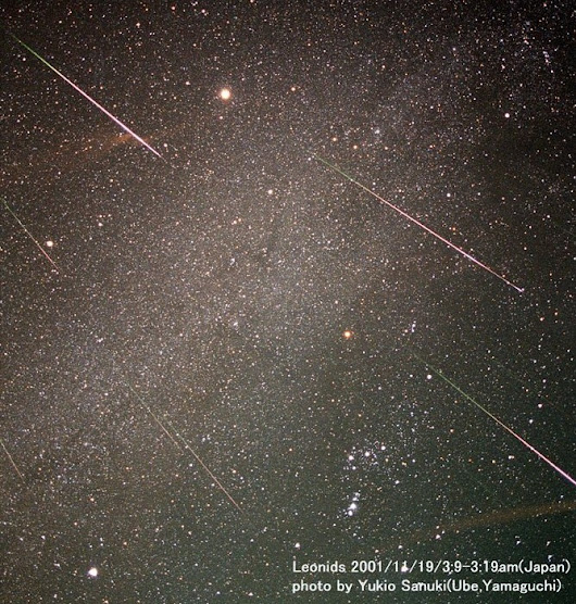 Leonid Meteor Shower Peaks Early Mornings 11/17 and 11/18