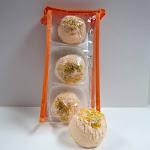 Dead Sea Spa Care DeadSea-BBTMM02 3 Pack Mango Mandarin Bubble Bath Truffles 2 Pack 8 oz Ginger & Orange Hand & Body Massage Lotion