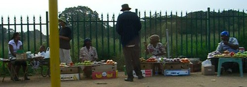 Hawkers at Pretoria Road junction