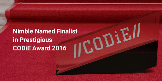 .@Nimble Named Best #CRM Finalist in Prestigious @CODiEAwards 2016