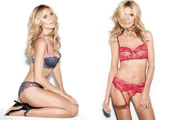 Heidi Klum Debuts New Lingerie Collection
