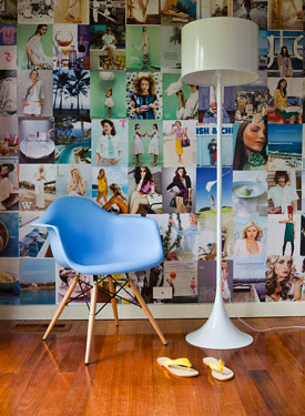 Collaged Walls