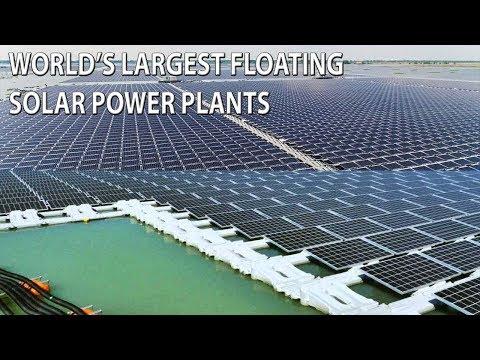 .2018 全球浮體企業裝機容量排名:陽光電源獨佔三分之一市場比例
