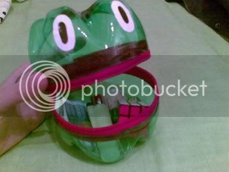 Plastic Frog Box